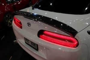 (Ver. 1) Car Shop Glow TOYOTA SUPRA JZA80 Custom LED Tail Lights. (smoked)