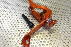 Supernow Brake Master Clamper RX-7 FD3S (Orange Alumite)