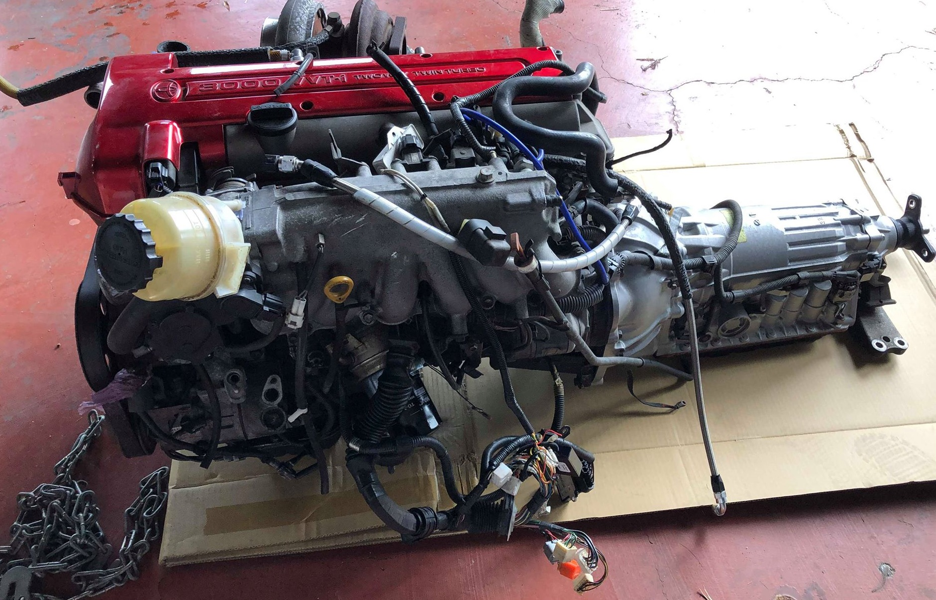 600BHP Toyota 2JZ-GTE 3 0L Engine Conversion - Drop in package