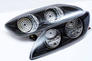 CAR SHOP GLOW CUSTOM MAZDA RX7 FD3S FD FRONT BUMPER LED LIGHTS – UK Stock