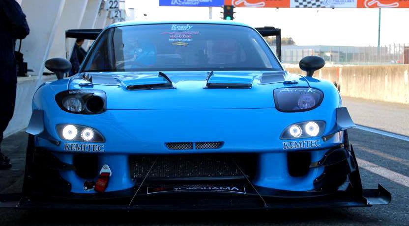 CAR SHOP GLOW CUSTOM MAZDA RX7 FD3S FD FRONT BUMPER LED LIGHTS - UK Stock