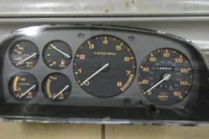 Mazda RX7 FC3S S5 Turbo Speedo Gauge Cluster 143km JDM