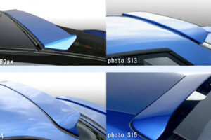 Genuine D-MAX Rear Window Spoiler For JZX100 CHASER / MARK 2 UK STOCK