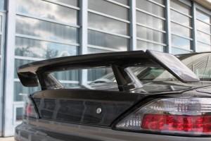 Genuine GarageMAK S15 Silvia S15 Carbon Rear Spoiler  – Drift – Made In Japan