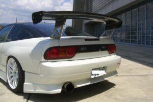Original Carbon GarageMAK Gt Wing Type 1 – Drift – Made In Japan