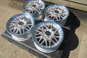 BRAND NEW WORK VS MX 17 INCH 5 X 114.3 7JJ ET+18 ALLOY WHEEL SET – HONDA DC2 DC5 S2000- *UK STOCK*