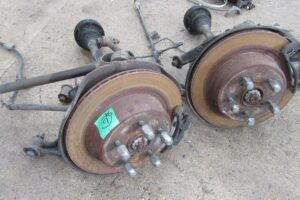TOYOTA JZX100 OEM REAR BRAKE CONVERSION – CALIPERS / DISCS ARMS COMPLETE