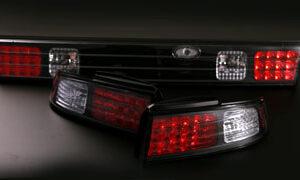 D Max Nissan S14A Kouki Rear LED Tail Light Set – Upgrade