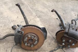 Toyota JZX100 OEM FRONT BRAKE CONVERSION – CALIPERS / DISCS ARMS COMPLETE