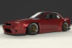 Original Pandem Kyoto 6666 Nissan Silvia S13 PS13 – Rocket Bunny Body Kit