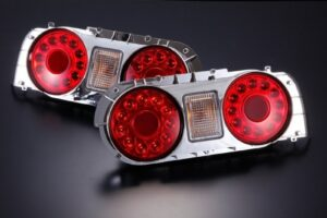 Nissan Skyline R32 LED Red Tail Lights – Pair