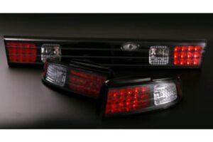 Nissan Silvia S14 LED Black Tail Lights – Set