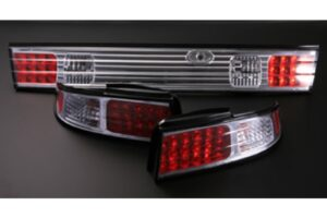 Nissan Silvia S14 LED Chrome Tail Lights – Set