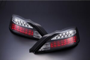 Nissan Silvia S15 LED Blinker Type Black Tail Lights – Pair