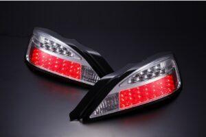 Nissan Silvia S15 LED Blinker Type Chrome Tail Lights – Pair