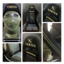 Limited Edition Vertex Bride Gias Collaboration Reclinable Seat – Carbon – Black and Gold – In Stock