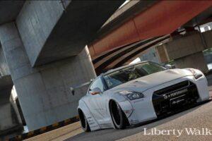 Liberty Walk LB Nissan R35 GTR V1 Wide Body Kit
