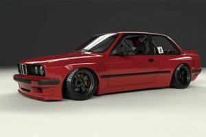 Original PANDEM Kyoto 6666 BMW E30 Bunny Body Kit