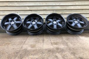 Custom WORK LS 606 3 Piece Forged Alloy Wheels – 19 Inch 10.5J – VIP Deep Dish – UK STOCK