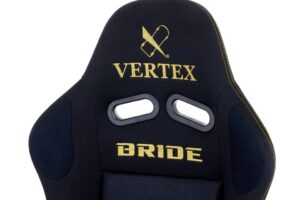 Vertex Racing Seat By Bride – ZETA III – Black And Gold