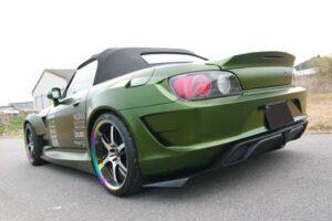 Authentic Tamon Designs Full Race Honda S2000Aero S2K Ducktail Spoiler – Exclusive To JapwestMods***