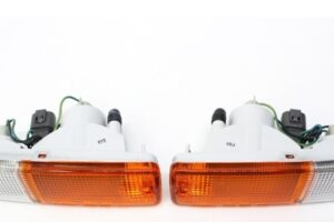 BRAND NEW NISSAN 180SX RPS13 KOUKI EARLY MODEL FRONT BUMPER LIGHT CLUSTERS – S13 200sx 240sx