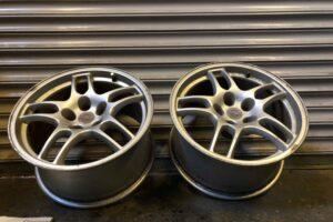 Nissan Skyline R33 GTR OEM Alloy Wheels – Pair – Forged