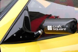 CRAFT SQUARE TOURING COMPETITION (TC) MIRROR – FD3S RX-7 (TRIANGLE MOUNT)