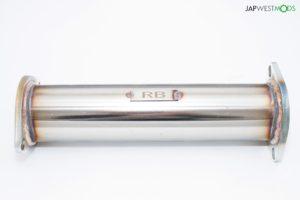 REINHARD Racing Exhaust D Cat Pipe RB25DET R34 Skyline C35 Laurel