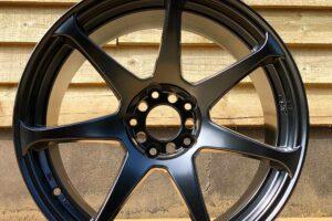 Black CST HYPER ZERO Concave Alloy Wheels Set- 18 Inch 9.5J Offset +15 -UK STOCK**