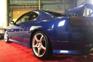 Immaculate Brilliant Blue Aero Silvia S15 Spec R Specification (Grade 4)