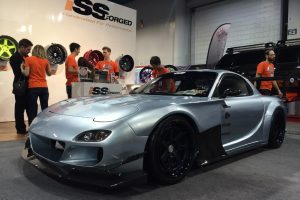 TCP 7 G-FACE Type GT CF Version Wide Body Kit Aero – Mazda RX7 FD3S