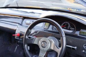Attack Racing EK9 Yellow Factory Carbon Dashboard Honda Civic