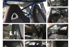 Mazda RX8  – 6 Point Roll Cage – Dash Dodger – UK Stock
