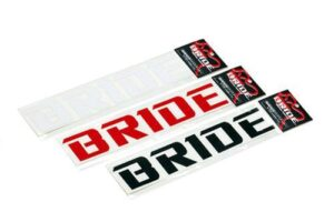 BRIDE Logo Cutting Sticker