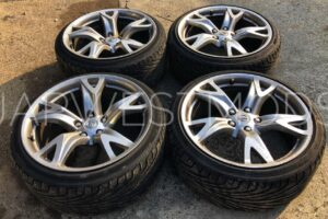 OEM RAYS NISSAN 370z ALLOY WHEELS  – Forged