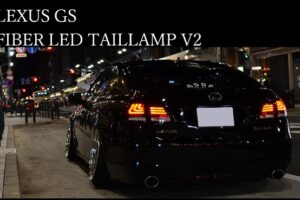 78WORKS FIBER FULL LED TAIL SET RED CLEAR – GRS191 GRS196 GWS191 UZS190 URS190