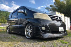 Toyota Alphard 2.4 M.S Edition 2006-55-Reg – Alloys, Face Lift Model. Privacy Glass