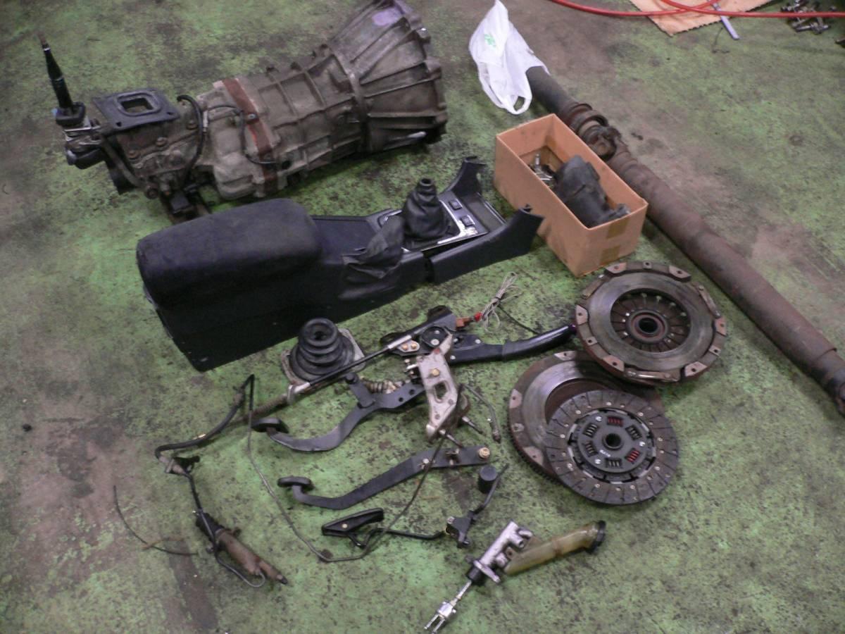 Toyota R154 5 Speed Manual Gearbox Package Conversion JZX90 JZX100 JZX110  Soarer Supra