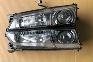 JDM Nissan Silvia S14a 200sx Headlights Headlamp Kouki Pair Glass Clean Mint OEM