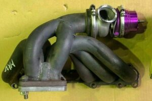 HKS Exhaust Manifold & Wastegate 1JZ GTE TwinTurbo Engine JZX90 Soarer JZX Drift