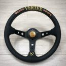 2020 Vertex 10 Star Gold Steering Wheel T&E Made – Exclusive to Japwest Mods