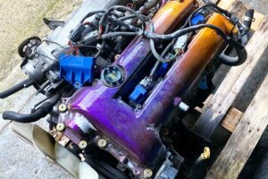 Nissan 200sx S14a SR20DET Engine Conversion