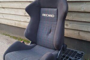 Genuine Recaro SR1 Reclining Bucket Seat