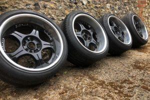 SSR 18 INCH 5 & 4 X114.3 Alloy Wheel Set